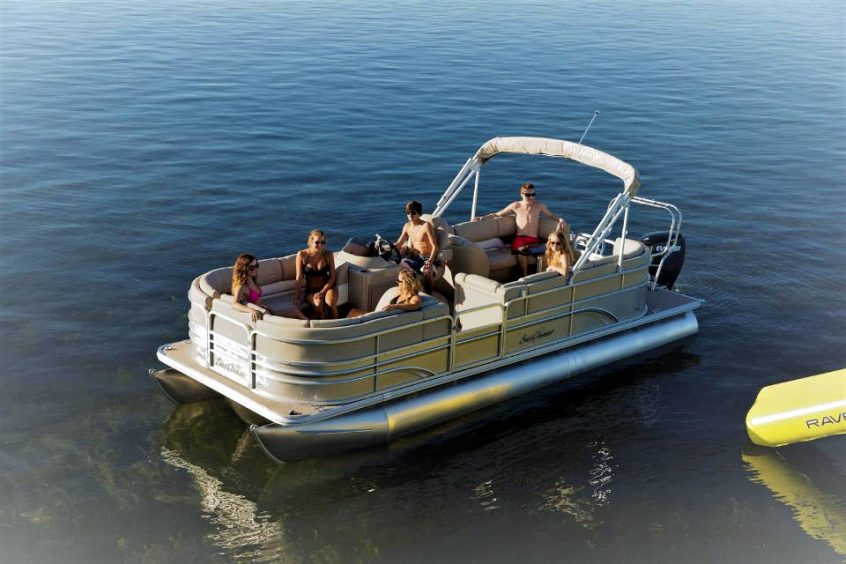 Sunchaser Pontoon Boat Available for Rent